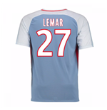 2017-18 Monaco Away Shirt (Lemar 27) - Kids