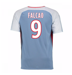 2017-18 Monaco Away Shirt (Falcao 9) - Kids