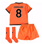 2017-18 Liverpool Third Mini Kit (Gerrard 8)
