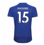 2017-18 Leicester City Home Shirt (Maguire 15)
