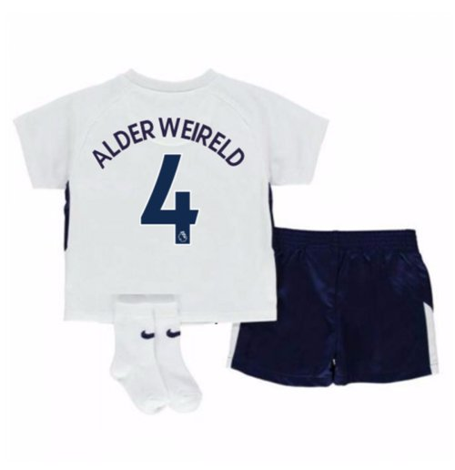 2017-18 Tottenham Home Baby Kit (Alderweireld 4)