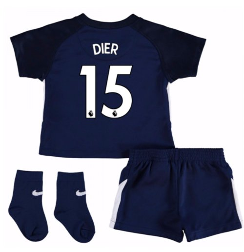 2017-18 Tottenham Away Baby Kit (Dier 15)