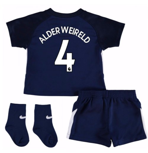 2017-18 Tottenham Away Baby Kit (Alderweireld 4)
