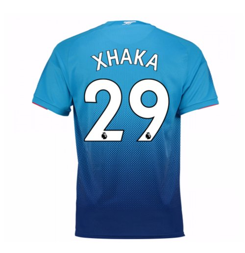 2017-2018 Arsenal Away Shirt (Xhaka 29) - Kids