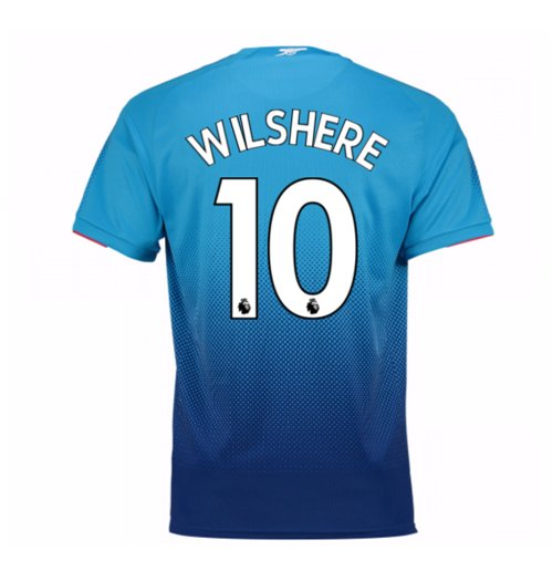 2017-2018 Arsenal Away Shirt (Wilshere 10) - Kids