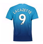 2017-2018 Arsenal Away Shirt (Lacazette 9)