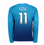 2017-2018 Arsenal Away Long Sleeve Shirt (Ozil 11)