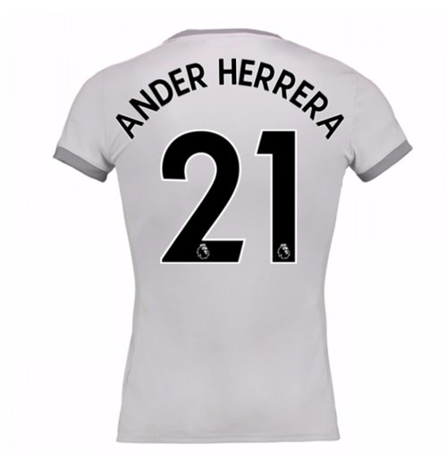 2017-2018 Man United Womens Third Shirt (Ander Herrera 21)
