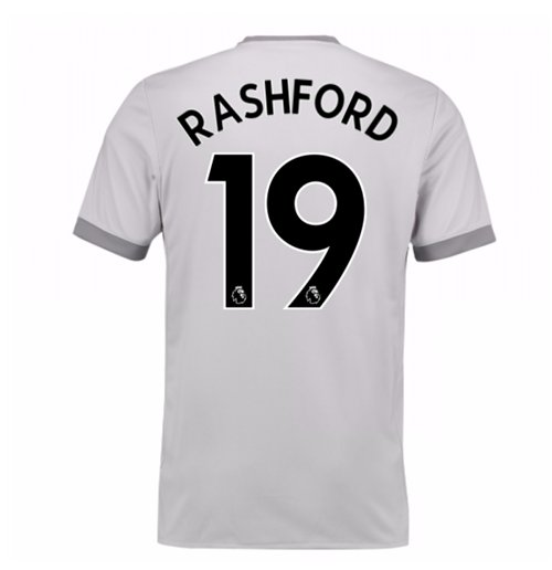 2017-2018 Man United Third Shirt (Rashford 19) - Kids