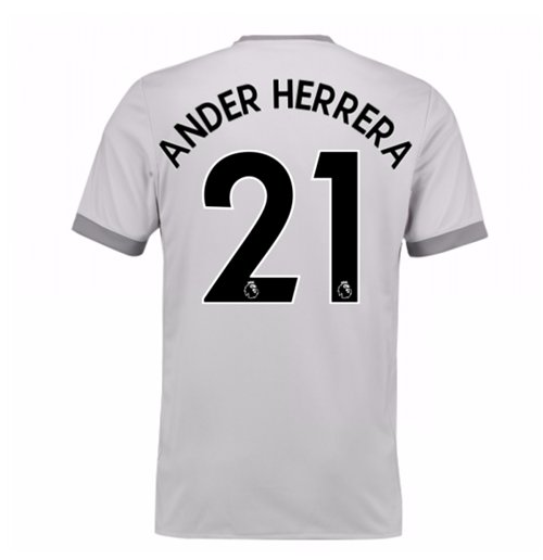 2017-2018 Man United Third Shirt (Ander Herrera 21) - Kids