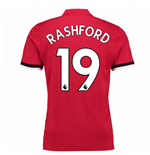 2017-2018 Man United Home Shirt (Rashford 19) - Kids