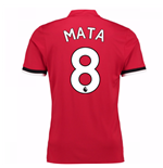 2017-2018 Man United Home Shirt (Mata 8)