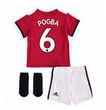 2017-2018 Man United Home Baby Kit (Pogba 6)