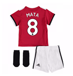 2017-2018 Man United Home Baby Kit (Mata 8)