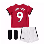 2017-2018 Man United Home Baby Kit (Lukaku 9)