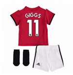 2017-2018 Man United Home Baby Kit (Giggs 11)