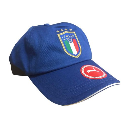 2018-2019 Italy Puma Team Training Cap (Blue)