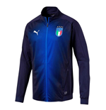 2018-2019 Italy Puma Stadium Jacket (Peacot)