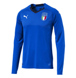 2018-2019 Italy Home Long Sleeve Puma Football Shirt