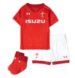 2018-2019 Wales Rugby Home WRU Mini Kit (Red)