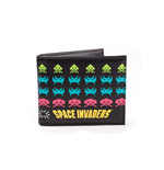 Space Invaders - Retro In Game Characters Bifold Wallet