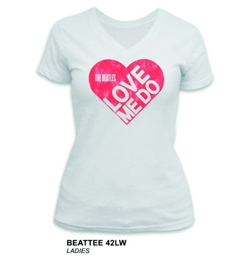 The Beatles Women's Tee: Love Me Do
