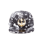 Star Wars - Spaceships Snapback With Metal Rebel Logo