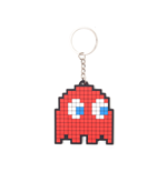 Pac-Man -  Blinky Rubber Keychain