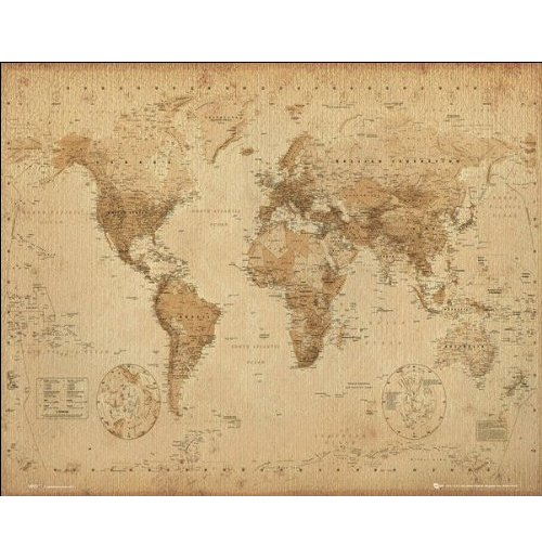 World map Poster 281854