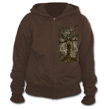 Oak Princess - Full Zip Hoody Chocolate