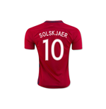 2016-17 Norway Home Shirt (Solskjaer 10) - Kids
