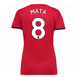2017-2018 Man United Womens Home Shirt (Mata 8)