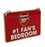 Arsenal F.C. Bedroom Sign No1 Fan