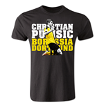Christian Pulisic Borussia Dortmund Player T-Shirt (Black)