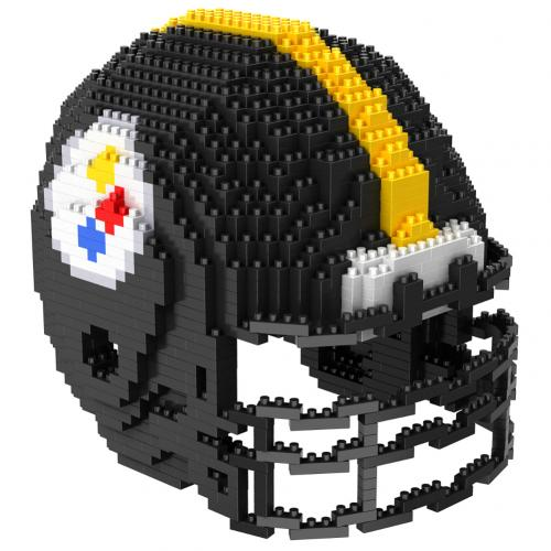 Pittsburgh Steelers 3D BRXLZ Team Helmet