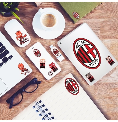 AC Milan's 3 Mini Stickers