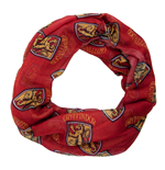 HARRY POTTER All-over Gryffindor House Badge Crest Viscose Scarf, Red