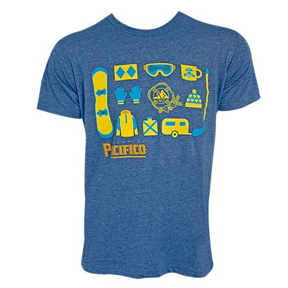 PACIFICO USOSB Heather Blue Tee Shirt