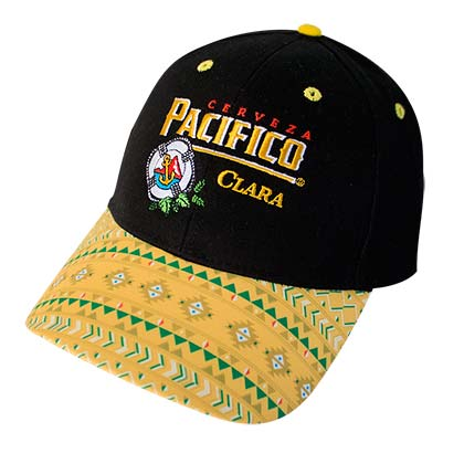 PACIFICO Patterned Bill Cap