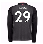 2017-18 Arsenal Third Long Sleeve Shirt (Xhaka 29) - Kids