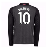 2017-18 Arsenal Third Long Sleeve Shirt (Wilshere 10) - Kids