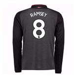 2017-18 Arsenal Third Long Sleeve Shirt (Ramsey 8) - Kids