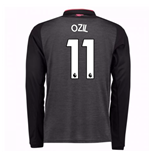 2017-18 Arsenal Third Long Sleeve Shirt (Ozil 11) - Kids