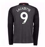 2017-18 Arsenal Third Long Sleeve Shirt (Lacazette 9) - Kids
