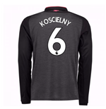 2017-18 Arsenal Third Long Sleeve Shirt (Koscielny 6) - Kids