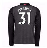 2017-18 Arsenal Third Long Sleeve Shirt (Kolasinac 31) - Kids