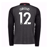 2017-18 Arsenal Third Long Sleeve Shirt (Giroud 12) - Kids