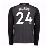 2017-18 Arsenal Third Long Sleeve Shirt (Bellerin 24) - Kids