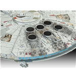 Star Wars Level 5 Model Kit 1/144 Millennium Falcon Limited Edition 22 cm