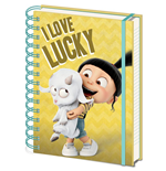 Despicable me 3 A5 Notepad - I Love Lucky